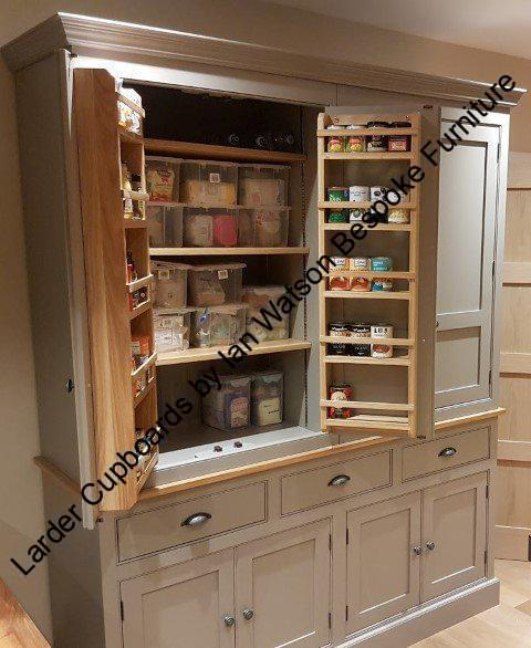 Larder Pantry Cupboard: Larder Cupboards