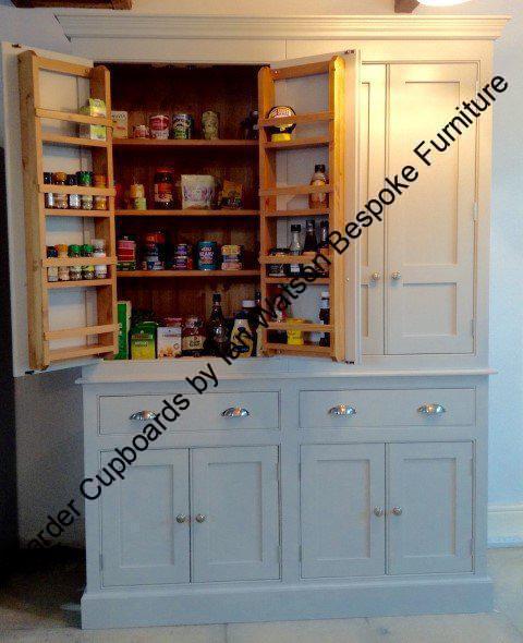 Larder Pantry Cupboard: Handmade Pantry Cupboards